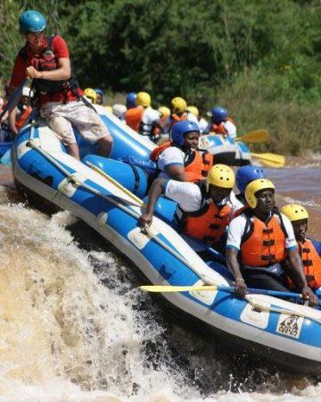 Whitewater Rafting at Savage Wilderness, Sagana