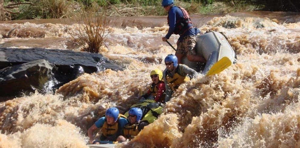 White water rafting, Kayaking & Rock climbing at Savage Wilderness