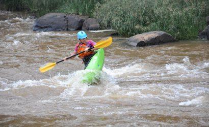White water rafting at Savage Wilderness, Sagana