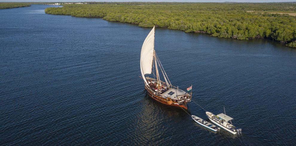 Tusitiri in Lamu Channel